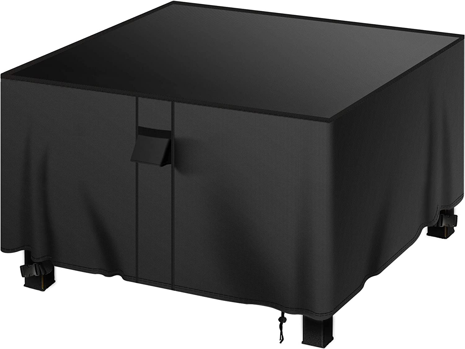 YDA Patio Square Regular store Fire Pit Cover Wa 50 New Free Shipping and Resistant inch Weather