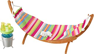 Barbie Low Price Hammock Doll Accessories - 3 Years and Above (Multi Color DVX47)