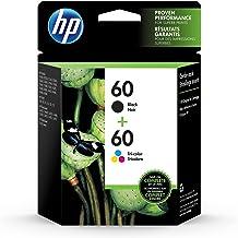 Original HP 60 Black/Tri-color Ink Cartridges (2-pack) | Works with DeskJet D1660, D2500, D2600, D5560, F2400, F4200, F440...