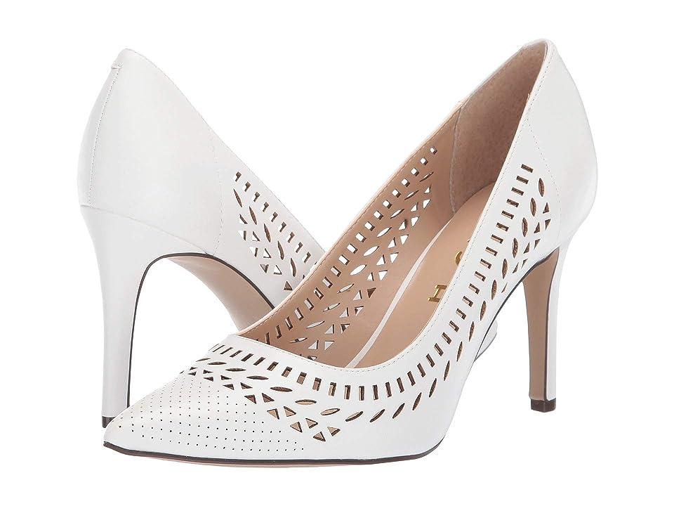 Unisa Spoke (White) High Heels