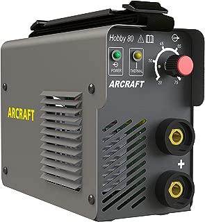 ARCRAFT Hobby80 Mini DC Arc Welder with TIG Function, Inverter, 120 Volt, 20–75 Amp Output