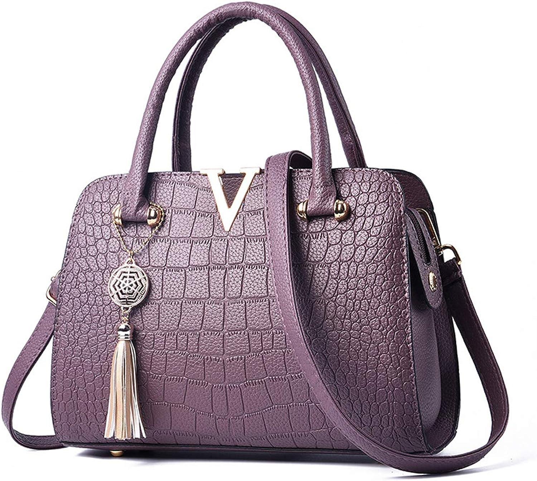 2dcc8a91cf45f Leder Handtasche Luxus Damen