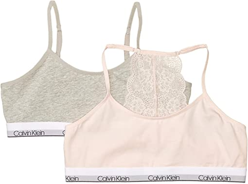 Crystal Pink/Heather Grey