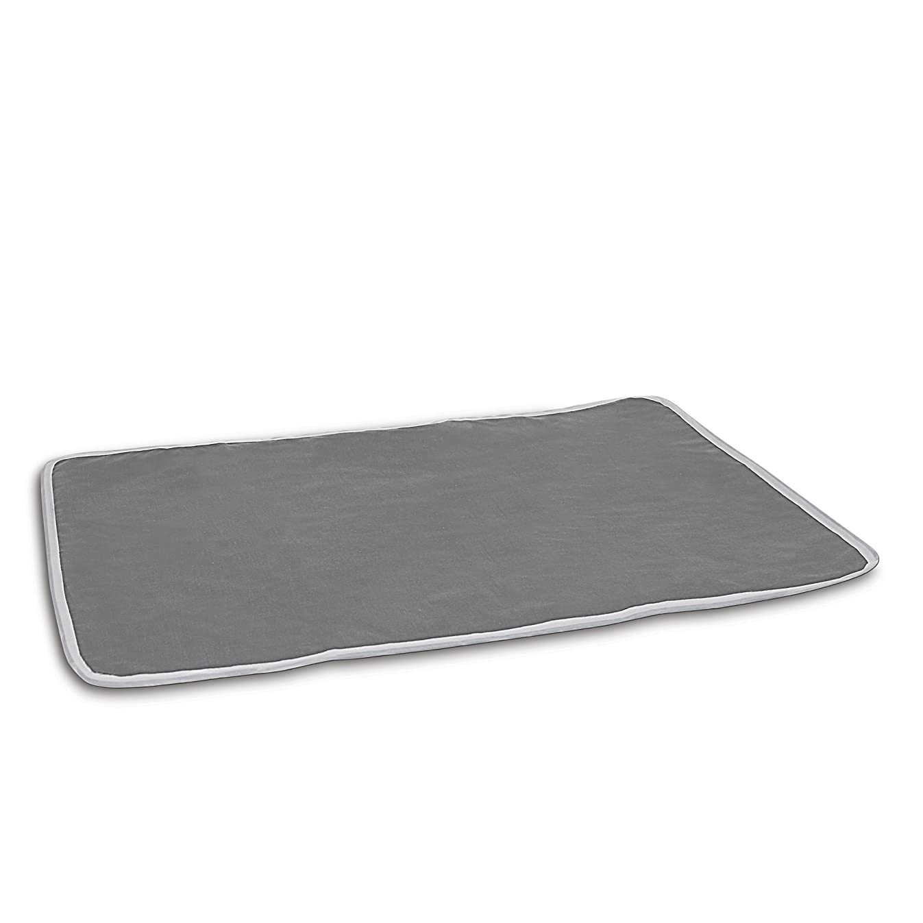Homz Cotton Ironing Mat, Portable, Gray