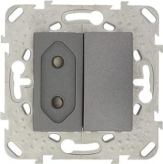 Schneider Electric MGU50.31/03.12B Conmutador con enchufe 2 P Grafito