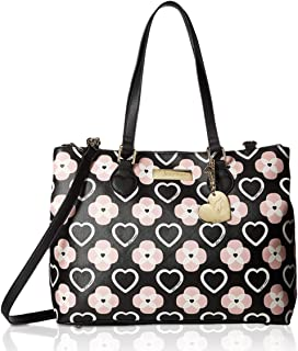 Betsey Johnson Women's Triple Compartment Satchel