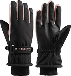 Janly Clearance Sale Long Sleeve Gloves, Winter Plus Velvet To Keep Warm, Wind And Cold Sports Game Gloves, for Winter Xma...