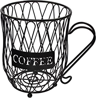 Coffee Pod Holder and Organizer Mug,Cup Keeper Coffee & Espresso Pod Holder, Coffee Mug Storage Basket
