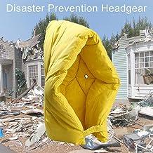 Sanmubo Cascos de prevención de desastres, Chef cubrejefes de Incendio, antiterismo, Tejido ignífugo, pasamontañas de prevención de desastres, Tejido ignífugo, para niños y Adultos