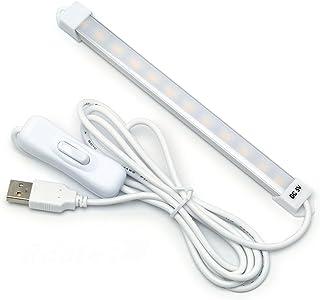 ルートアール 12灯 USB LED バーライト スイッチ付き 昼光色 RL-BAR12D