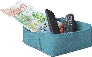 Panier de rangement en feutre - Idéal comme organiseur de bureau, décoration de salon ou panier cadeau vide à remplir - ce...