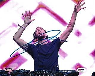 Calvin Harris DJ Singer Songwriter Signed Auto 8x10 Photo COA (A) - PSA/DNA Certified