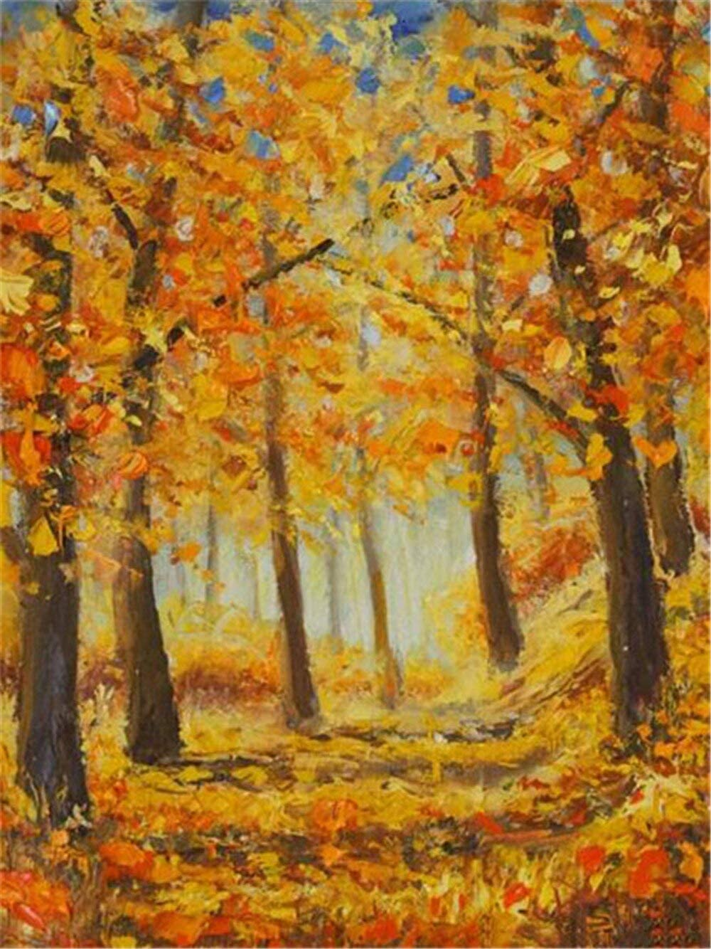 Square NEW before selling Diamond Painting Autumn DIY 5d Embroidery Mosaic Finally resale start