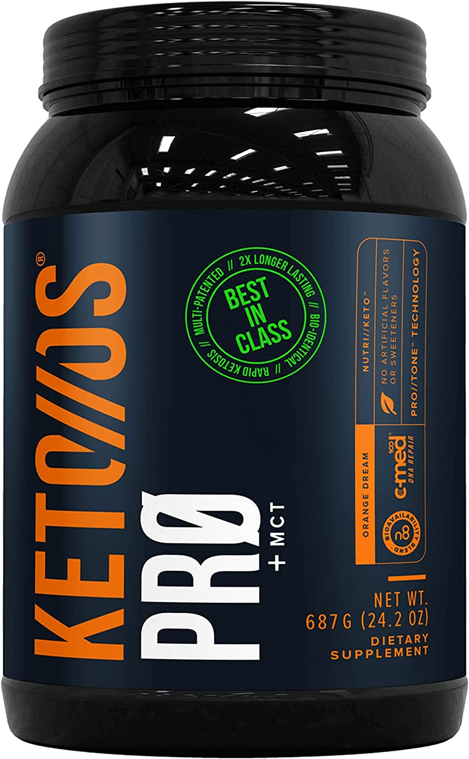 Pruvit Keto Excellent OS Pro Orange Dream + Dietary Supplem - MCT 2021 spring and summer new Ketones