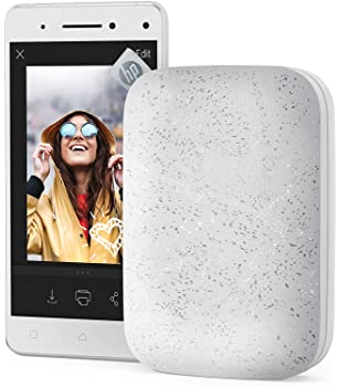 HP Sprocket Portable Photo Printer (2nd Edition) – Instantly Print 2x3 Sticky-Backed Photos from Your Phone – [Luna P...