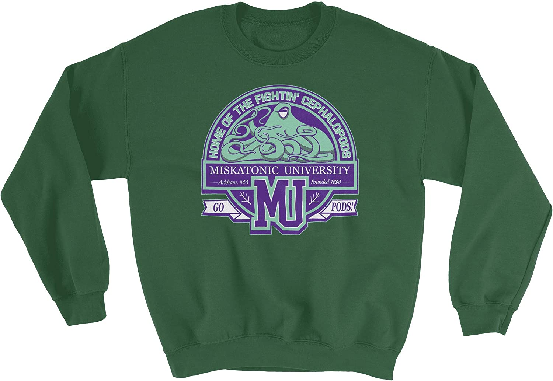 HARD EDGE DESIGN High material Unisex Mascot Denver Mall Sweatshirt Miskatonic
