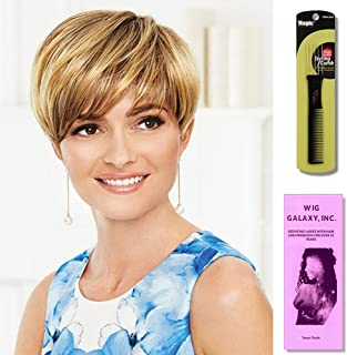 So Stylish by Gabor, Wig Galaxy Hair Loss Booklet & Wig Styling Comb (Bundle