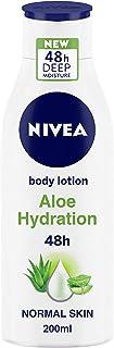 NIVEA Body Lotion, Aloe Hydration, with Aloe Vera, for Men & Women, 200 ml