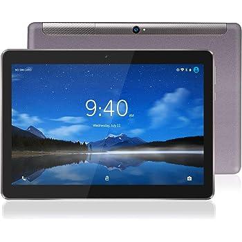 Tablet 10 Pulgadas 4G LTE WiFi BEISTA-Tableta Android 9.0,4GB RAM 64GB Memoria,2GHz CPU de alta velocidad,Ocho nucleos,GPS Tpye-C,Dobles SIM y TF,Cuerpo de metal-Gris