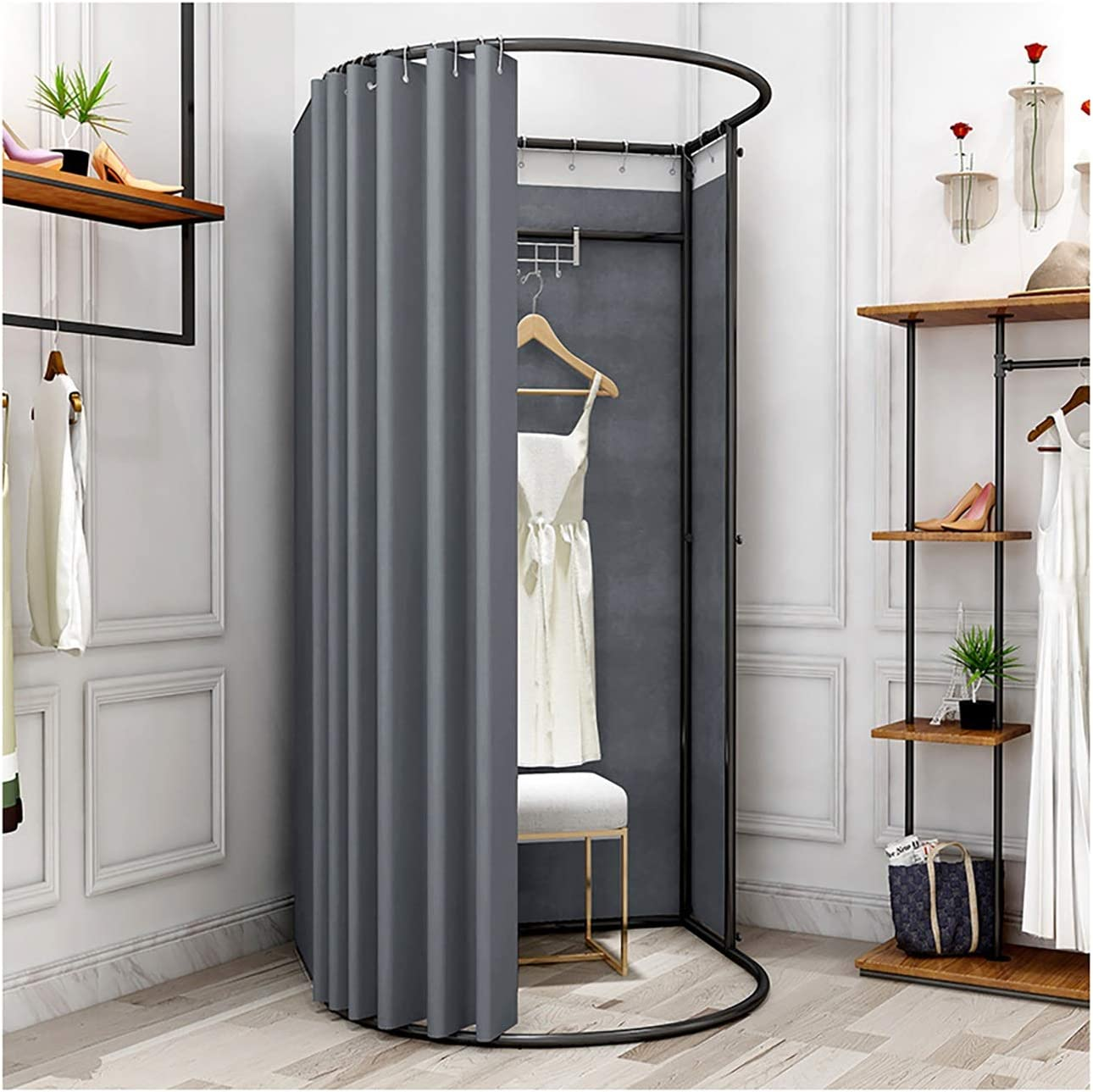 Fitting Room OFFer Clothing Genuine Free Shipping Store Rack Display Landing