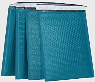 XCGS 10.5x16 Inch Forest Green Padded Bubble Mailers Pack of 25 Padded Bubble Envelopes #5 Self Sealing Bubble Mailing Env...
