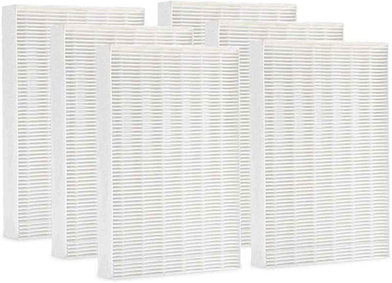 Cabiclean True HEPA Replacement Filter Compatible Honeywell HPA300 HPA200 HPA100 HPA090 Series Air Purifier Filter R HRF R3 HRF R2 HRF R1 6 Pack