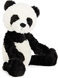 Jellycat Squiggle Panda Stuffed Animal, Small, 9 inches