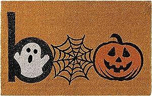 Halloween Doormat Funny Front Door Mat, Anti-Slip Bottom Welcome Home Decorations, Halloween Decor Door Mat, Fit for Entry Way Kitchen Bedroom Indoor Outdoor Carpet 16x24 inch