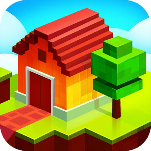 Farm Craft - Blocky City Building Simulator
