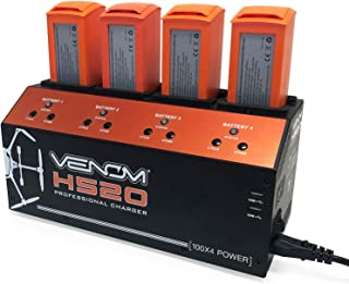 Venom Pro H520 4-Port LiPo Battery Balance Charger with Dual USB Outputs