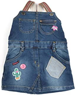 Little Kangaroos Girls Denim A-Line Dress