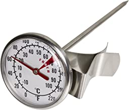 Davis & Waddell Essentials Milk Frothing Thermometer D4x13.5cm Large Dial -10°C to 100°C Temperature Range