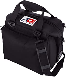 AO Coolers Deluxe Canvas Soft Cooler with High-Density Insulation, 12-Can to 24-Can