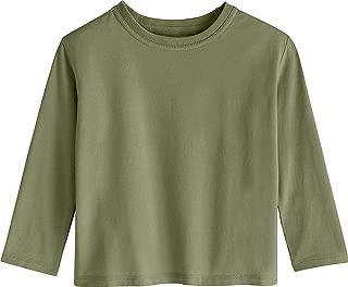 Coolibar UPF 50+ Toddler Coco Plum Everyday Long Sleeve T-Shirt - Sun Protective