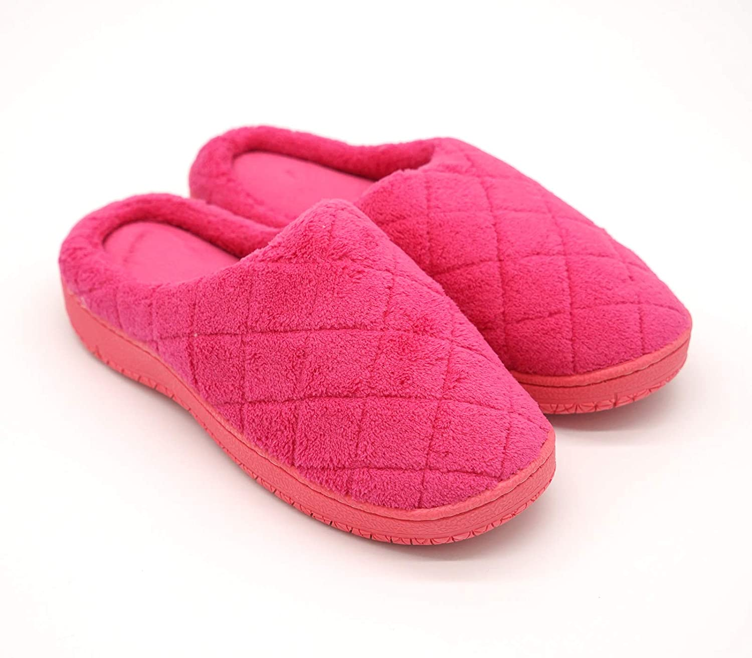 Baviue Women's Fashion Indoor House Memory Foam Ladies Slippers