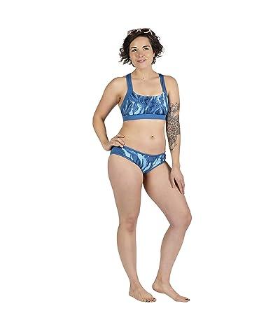 Skirt Sports Brakini Top (Lagoon Print) Women
