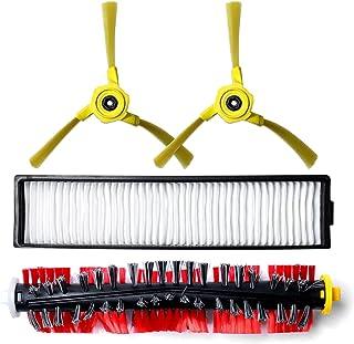 良い メインブラシモップ布側ブラシフィルターL-GホームボットVR6270LVM VR65710 VR6260LVMシリーズロボット掃除機クリーナーアクセサリーアクセサリーキット(カラー:C) 良いヘルパー (Color : B)
