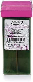 Starpil Wax - Aloe Vera Roll On Cartridge (110g/3.8oz) - 1 Roll