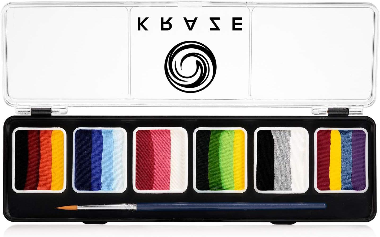 Kraze FX Splash Split Award-winning store Cake Palette 6 Brush with - Water 55% OFF gm Act