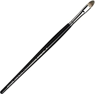 da Vinci Cosmetics Series 9680 Professional Concealer Brush, Oval Synthetic, Size 8, 14.4 Gram
