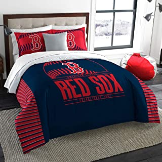 The Northwest Company Boston Red Sox MLB King Comforter Set (Grand Slam Series) (102 x 86)
