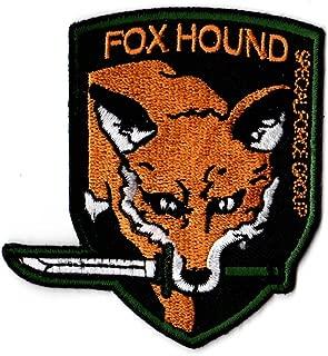 Metal Gear FOXHOUND Iron on Patch from ZanzibarLand