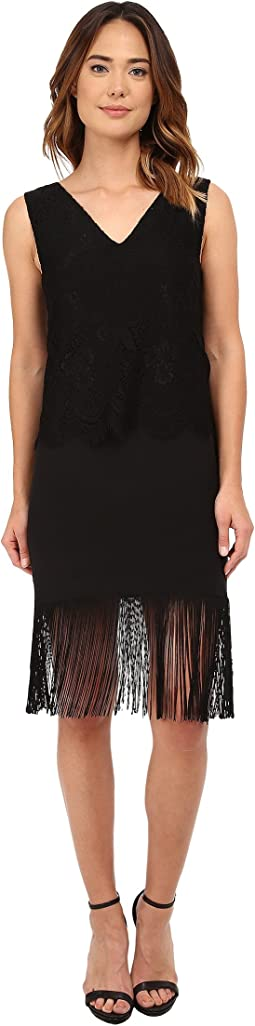 Stella Fringe and Lace Party Dress