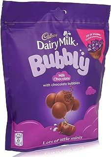 Cadbury Dairy Milk Bubbly Chocolate - 204 gm