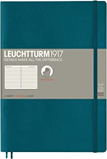 Leuchtturm1917 Softcover B5 Composition Lined Notebook - Pacific Green