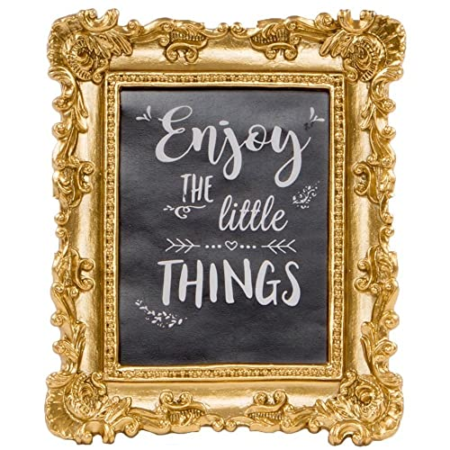 ac27f89b364 Little Things Ornate Gold Photo Frame