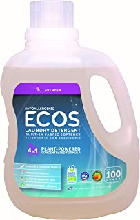 Earth Friendly Products Ecos Laundry Lavender,100 Fl Oz