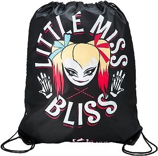 WWE Alexa Bliss Little Miss Bliss Drawstring Bag Black