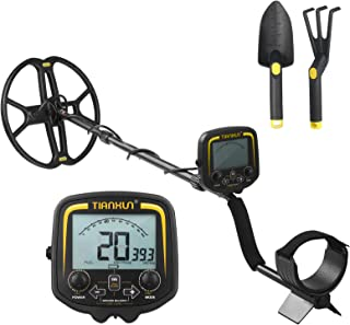 pedkit Detector de metal LCD de 3,7 polegadas, localizador de metal subterrâneo de alta sensibilidade, caçador de tesouro...