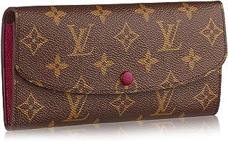 Louis Vuitton Monogram Canvas Monogram Canvas Emilie Wallet Article: M60697 Fuchsia